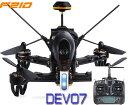 【ラジコン ヘリコプター】WALKERA ワルケラ / F210 レーシング クアッドコプター + DEVO7 送信機(HDカメラ、OSD、バッテリー、日本語マニュアル付)充電器は別売り【送料無料】