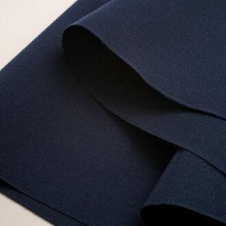 Plain also cotton Navy Blue cut up for sale