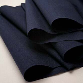 The plain fabric is noodles dark blue cut selling, too