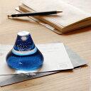 雑貨/文具/贈り物/ガラス/クラフト/静岡 磐田ガラス寺田 富士山ペーパーウエイト