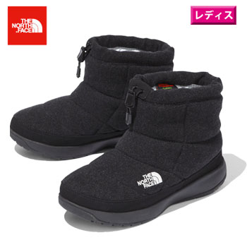レディース靴, スノーシューズ THE NORTH FACE VNFW51979(CH)W Nuptse Bootie Wool V Short
