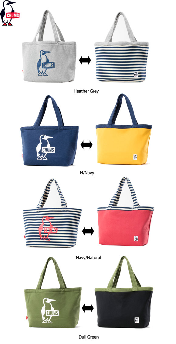 CHUMSリバーシブルトートスウェット CH60-2186   [チャムス Reversible Tote Sweat]