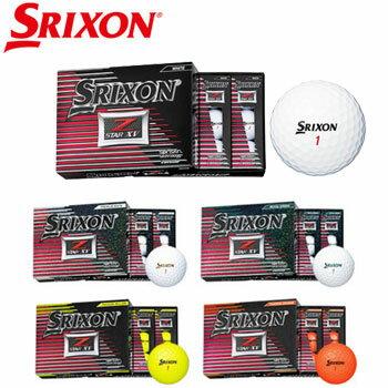 スリクソン 2017 Z-STAR XV ゴルフボール 1ダース [SRIXON GOLF BALL ゼットスター エックスブイ]【あす楽対応】