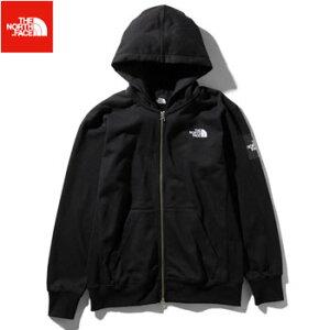 ノースフェイス スクエアロゴフルジップ メンズNT11952 (K)ブラック [THE North Face アウトドア パーカー スウェット Square Logo FullZip]【あす楽対応】