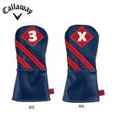 キャロウェイ 2016 Callaway Vintage Fairway Wood HeadcoverBlue/Red フェアウェイウッド用 [キャロウェイ  ヘッドカバー ヴィンテージ ビンテージ]【あす楽対応】