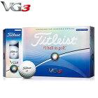 タイトリストVG3ゴルフボール日本仕様レインボーパール