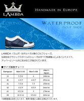 ラムダ2015TORINOゴルフシューズスパイクレスTRN-M-1011-WHITE[LAMDAトリノスパイクレスGOLFSHOES]