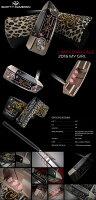 スコッティキャメロン2016LimitedReleaseMyGirlパター1250本限定モデル34インチ[SCOTTYCAMERONマイガールSelectM2マレット]