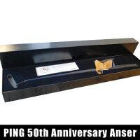 ピン2016PINGAnser50thアニバーサリーカーステンモデルパター34インチ[PINGレッドウッドputter]【対応】