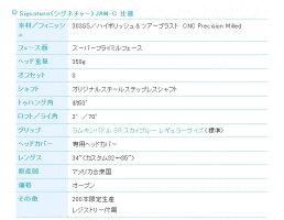 ベティナルディ2017SignatureJAM-Cパター日本仕様
