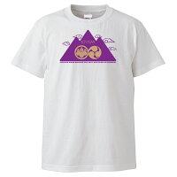 高野山和柄Tシャツホワイト前面
