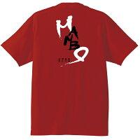 紀伊長島マンボウTシャツ背側レッド