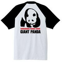 南紀SHIRAHAMA-PANDATシャツ半袖白×黒