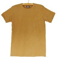 熊野番茶染め国産コーマ糸Tシャツ半袖無地銅媒染