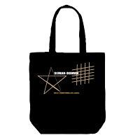 三重伊勢志摩海女さんドーマンセーマントートバッグ:ブラック