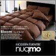 ロイヤルゴールドラベル羽毛布団8点セット Bloom【ブルーム】ベッドタイプ クイーン