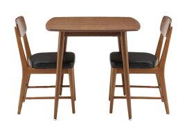 emoシリーズウォールナットダイニングテーブル