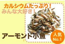 【送料無料(メール便)の嬉しい卸売価格!】小魚と素焼きアーモンドの組み合わせ♪瀬戸内海産の小...