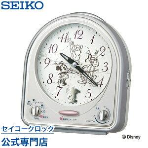 セイコークロック ディズニー キャラクター 置き時計 セイコー ミッキー フレンズ スイープ メロディアラーム おしゃれ Disneyzone