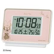 セイコークロック ディズニー キャラクター 目覚まし 置き時計 セイコー ミッキー フレンズ ミニーマウス クオーツ おしゃれ Disneyzone