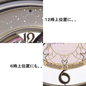 【結婚祝い&内祝い掛け時計壁掛け時計電波おしゃれキャラクターディズニー】