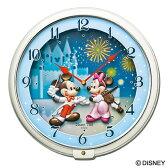 セイコークロック SEIKO ディズニー 掛け時計 壁掛け FW568W セイコー掛け時計 壁掛け ディズニー ミッキー ミニー ミッキー&フレンズ キャラクター メロディ 結婚祝い&内祝い おしゃれ かわいい【Disneyzone】 【あす楽対応】【送料無料】