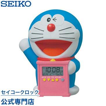SEIKOギフト包装無料 セイコークロック SEIKO キャラクター 目覚まし時計 置き時計 JF374A セイコー目覚まし時計 セイコー置き時計 ドラえもん デジタル 音声 おしゃべり 温度表示 おしゃれ かわいい あす楽対応【ギフト】 母の日