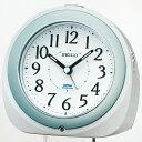 セイコークロック SEIKO 目覚まし時計 置き時計 電波時計 KR331W セイコー目覚まし時計 セイコー置き時計 セイコー電波時計 自動点灯ライト 白パール塗装 おしゃれ【あす楽対応】