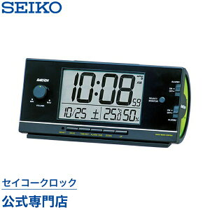 セイコークロック ピクシス 目覚まし 置き時計 セイコー ライデン デジタル パターン カレンダー おしゃれ