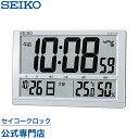 SEIKOギフト包装無料 セイコークロック SEIKO 掛け時計 壁掛け 電波時計 置き時計 SQ433S セイコー掛け時計 セイコー電波時計 デジタル カレンダー 温度計 湿度計 六曜表示 あす楽対応 送料無料【ギフト】