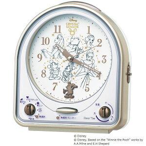 セイコークロック ディズニー キャラクター 置き時計 セイコー ミッキー フレンズ クリスタル シーズン スイープ メロディアラーム おしゃれ Disneyzone