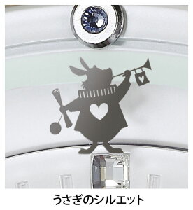 セイコークロックSEIKOディズニー掛け時計電波時計FS509W大人ディズニー不思議の国のアリスキャラクタースイープおしゃれかわいい【Disneyzone】【送料無料】【あす楽対応】