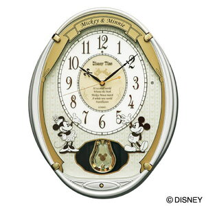 セイコークロックSEIKOディズニー掛け時計電波時計FW567Wセイコー掛け時計セイコー電波時計ディズニーミッキーミニーミッキー&フレンズメロディおしゃれかわいい【Disneyzone】【あす楽対応】【送料無料】