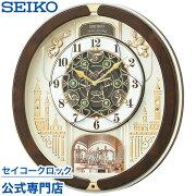 セイコークロック 掛け時計 からくり セイコー スイープ メロディ スワロフスキー おしゃれ