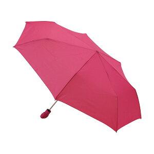 折りたたみ傘 クニルプス Knirps FLOYD Duomatic フロイドデュオマチック メンズ レディース KNFY806-133 自動開閉 ワンタッチ ピンク コンパクト |晴雨兼用 軽量 大きい 折り畳み傘 丈夫
