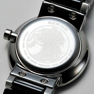 【先着でネッククーラープレゼント!】ベーリングBERINGレディース腕時計11429-751リンクセラミックPolarisスワロフスキーセラミック・SSメタルベルトホワイト×イエローゴールド【正規品】【送料無料】【_包装】