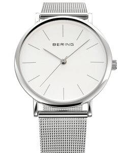 ベーリングBERINGペア腕時計NorthPole13436-00013426-000クラシックカービングメッシュSSメッシュベルト【正規品】【送料無料】【対応】