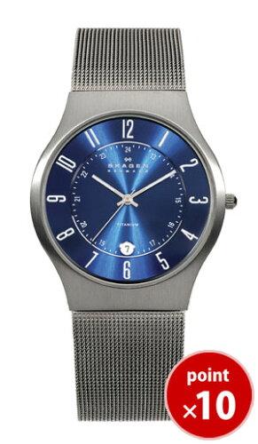 スカーゲン SKAGEN メンズ 腕時計 233XLTTN Titanium Mens 233 Series チタン チタニウム ...