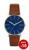 スカーゲン SKAGEN メンズ SIGNATUR 腕時計 SKW6355 Leather Mens ブラウンレザーベルト【あす楽対応】【正規品】【送料無料】|腕時計 腕時計