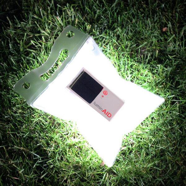 ルミンエイドluminAIDソーラー充電式ランタン太陽光充電LEDランプLEDライト防災用アウトドア