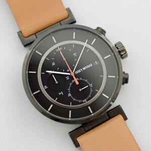 【2012年AW最新モデル】【送料無料】イッセイミヤケISSEYMIYAKEメンズ腕時計SILAY006和田智Wダブリュカレンダークロノグラフブラック×ヌメ革
