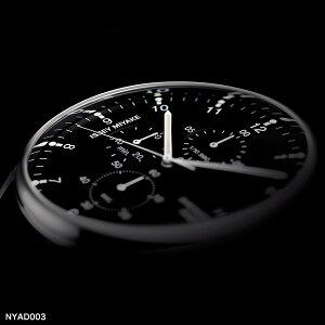 【今だけ!ナイロンベルトプレゼント】イッセイミヤケISSEYMIYAKECシィ岩崎一郎クロノグラフブラックダイヤルブラックレザーベルトメンズレディース腕時計ウォッチカレンダーNYAD003黒正規品送料無料対応