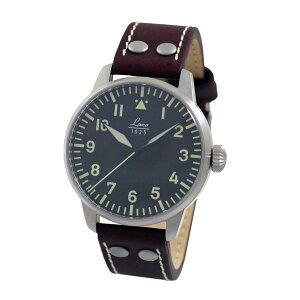 【送料無料】ラコLACOパイロットウォッチAugsburgアウグスブルグ861688メンズドイツ製機械式自動巻き腕時計径42mmブラウンレザーベルト
