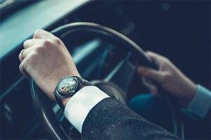 ☆MrJonesWatchesミスタージョーンズウォッチメンズ・レディース兼用腕時計MJW020024TheLastLaughTattoEditionAutomaticAdrianWillardのタトゥーデザインメカニカル(機械式)レザーベルト【正規品】【送料無料】