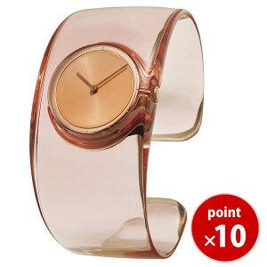 イッセイミヤケISSEYMIYAKEオーO吉岡徳仁メンズレディース腕時計クリアーローズピンクバングルウォッチSILAW003正規品送料無料|腕時計おしゃれカジュアル女性男性ウォッチあす楽対応
