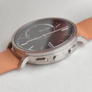 スカーゲンSKAGENスマートウォッチチタニウムメンズ腕時計SKT1104HAGENCONNECTEDTitaniumMensチタンライトブラウンレザーベルト【対応】【正規品】【送料無料】