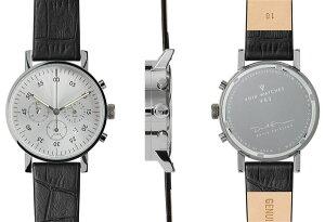 【ヴォイド】【VOID】腕時計VID020037ユニセックスメンズ・レディース兼用クロノグラフレザーストラップ【正規品】【送料無料】