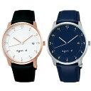 【国内正規品】 アニエスベーペアウォッチ マルチェロ agnes b. marcello 時計 腕時計 38mm FBRK998FBRK999 アニエス・ベー アニエスb. 【送料無料】あす楽対応