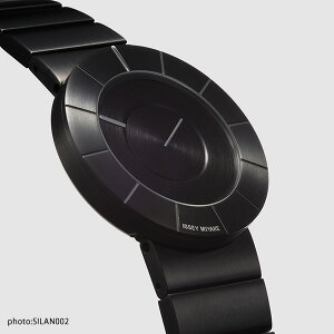 イッセイミヤケISSEYMIYAKEティーオーTO吉岡徳仁メンズレディース腕時計メタルバンドモデルブラック×ブラックSILAN002【あす楽対応】【正規品】【送料無料】【楽ギフ_包装】