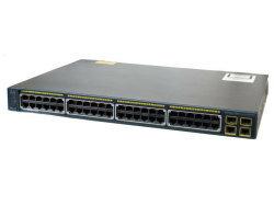 Cisco  Catalyst2960シリーズスイッチ WS-C2960-48PST-L【中古】